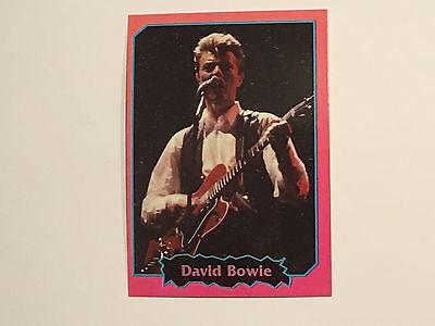 David Bowie 1997 Argentina International Rock Cards Licensed Real Rare Legend B