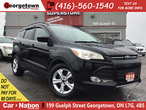 2016 Ford Escape SE |NAVI |LEATHER |PANO ROOF |BACK UP CAM
