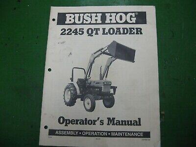 Bush Hog 2245qt 2245 Qt Loader Nos Original