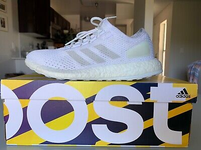 Adidas PureBOOST Clima Sz 8 All White Ultra Boost Yeezy Nmd