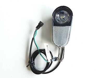 WHIRLWIND C4 Plegable Bicicleta Eléctrica LED Luz Delantera