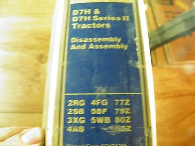 Cat Caterpillar D7h Service Manual Disassembly Assembly