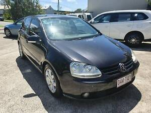 2005 VW GOLF AUTO 2.0 LEATHER AND ROOF BLACK Noosaville Noosa Area Preview