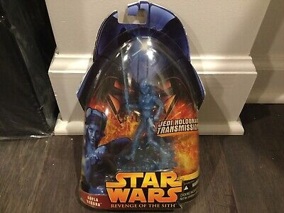 STAR WARS Revenge Of The Sith HOLOGRAPHIC TRANSMISSION AAYLA SECURA Figure MOC