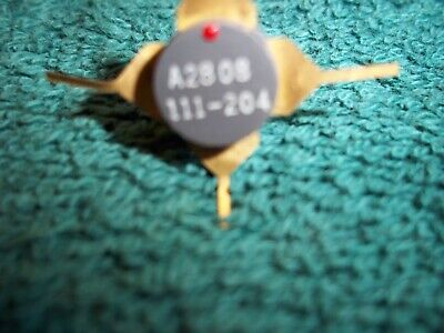 Amperex Rf Power Transistor A2808 5 Watt Ft1800 Mhz  4 Pieces