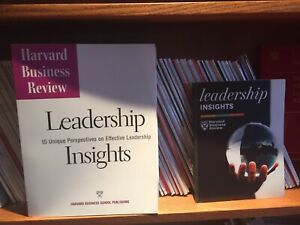 Harvard Business Review magazines