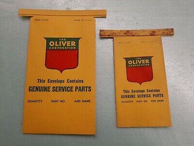 Vintage 1950s Oliver Dealer Parts bags Farm Tractor Gas Oil Diesel old sign (Vintage Oliver Sign)