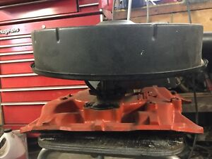 60's Mopar 383 Intake, carb and air cleaner