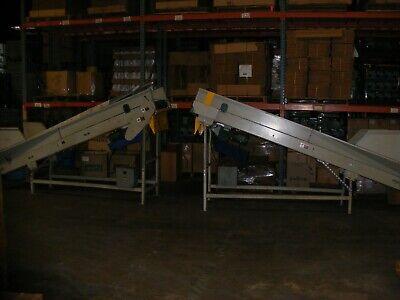 Incline Belt Conveyor Belt Is 20 Wide By 11 Long In Nj
