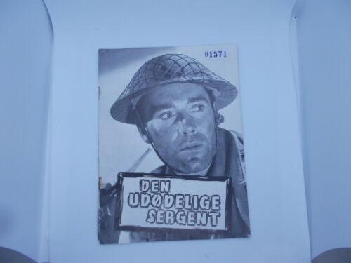 Vintage Immortal Sergeant Dutch Movie Program henry Fonda Allyn Joslyn  Rare