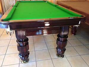 7 Ft King William Pool Billiard Tables Adelaide Woodville Park Charles Sturt Area Preview