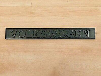 Used, RARE VW Volkswagen EARLY MK1 A1 Golf Rabbit GTI Script Logo Emblem Badge CLEAN for sale  Blaine