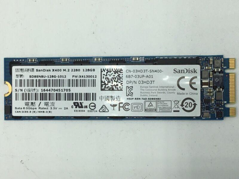 SanDisk SSD X400 128GB M.2 2280 Solid State Drive - SD8SN8U-128G-1012 03HD3T