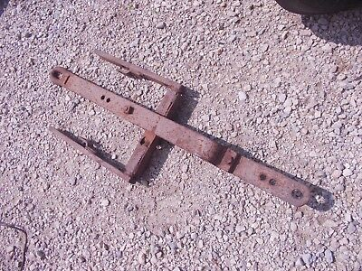 Allis Chalmers Wd Wd45 45 Tractor Ac Snap Couple Drawbar Draw Bar Assembly Nice