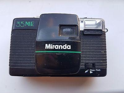 Miranda 35 ME 35mm Point And Shoot Camera 38mm F3.5 vintage retro
