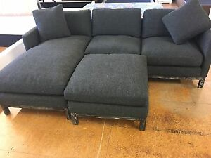 BRAND NEW 3.5 Seater Navy/Charcoal Audrey Lounge Revesby Bankstown Area Preview