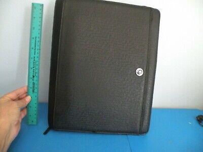 Case It Case-it Classic 3-ring Zipper Binder Black Organizer 14 New A10