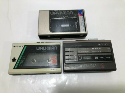 Sony Walkman WM-11 / WM-F59 / WM-F9 Stereo Cassette Player - lot 3
