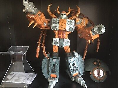 Transformers CUSTOM Takara Dominator Unicron with Matrix & Throne Of Chaos!!