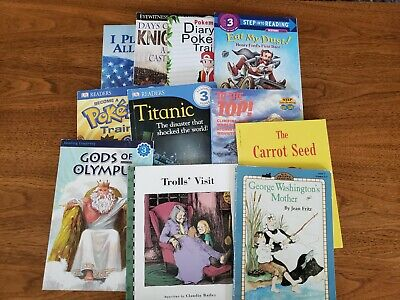 Lot of 10 - Level 3 ACCELERATED READERS 2nd Second Grade