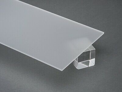 Acrylic Clear Frosted Plexiglass 18 X 24 X 48 Plastic Sheet P95