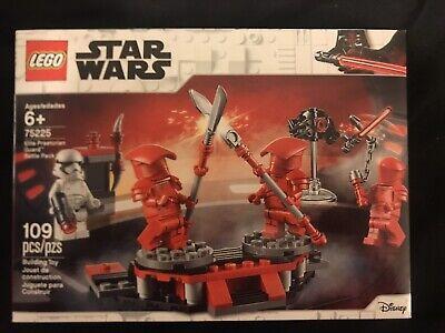NEW LEGO Star Wars Elite Praetorian Guard Battle Pack Set 75225 Sealed Unopened
