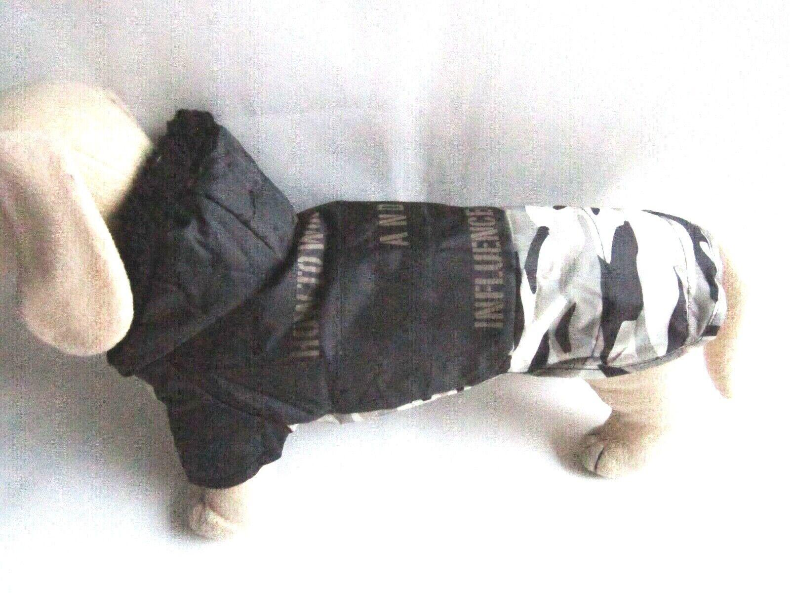 Hunde Regenmantel leicht wattiert für Dackel Rl. ca. 38cm Hundebekleidung klkxde