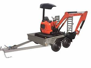 KUBOTA U15-3 ZERO SWING 1.5T MINI EXCAVATOR & TRAILER PACKAGE Kewdale Belmont Area Preview
