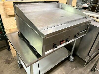 Montague Dg2436-sat Deluxe Gas Griddle Thermostatically Controlled