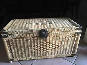 Cane / rattan trunk or blanket box Jandakot Cockburn Area Preview
