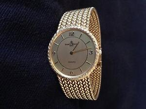 Baume & Mercier 18K SOLID GOLD WATCH. Swiss Made. Woollahra Eastern Suburbs Preview