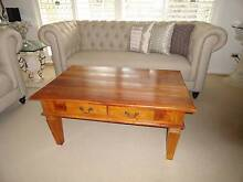 TIMBER COFFEE TABLE Clear Island Waters Gold Coast City Preview
