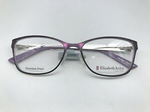 7dc383651523 Elizabeth Arden EA 1156 Designer Eyeglasses Frame 53-16-135 Purple Glasses