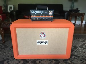 Orange Dark Terror head and Orange PPC212 Speaker Cab