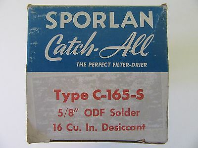 Sporlan Catch-all Filter-drier Type C-165 Refrigeration Air Condition