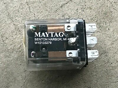 Maytag Washer Relay Oem Top Loader W10133279