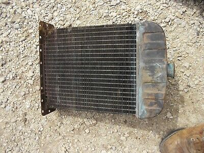 International Cub Lo Low Boy Lb Tractor Orgnl Ihc Good Working Radiator Assembly