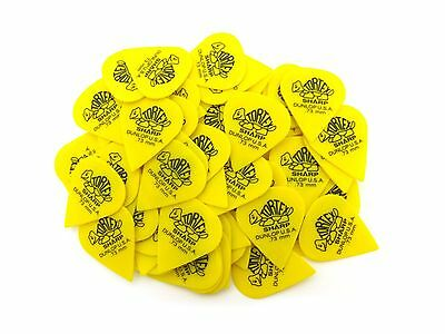 Dunlop Guitar Picks  Tortex  Sharp  72 Pack  .73mm  412R.73 Guitar for sale  Shipping to India