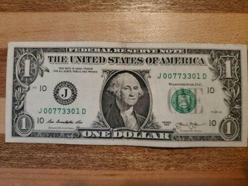 007 1 Dollar J Series 2013 - $1.30