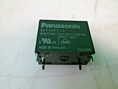 Panasonic Power Relay Alfg2pf12 31a277vac 12vdc High Capacity Smd New