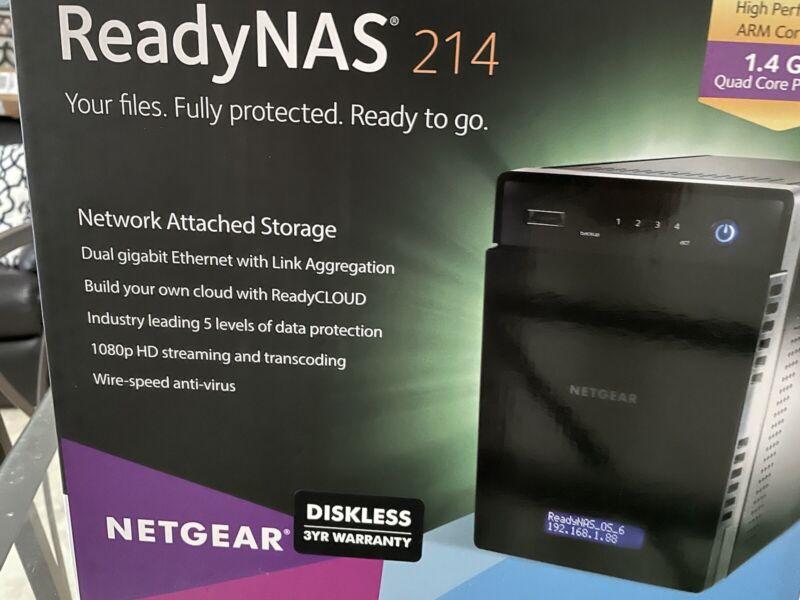 Netgear Readynas 214 With 12TB
