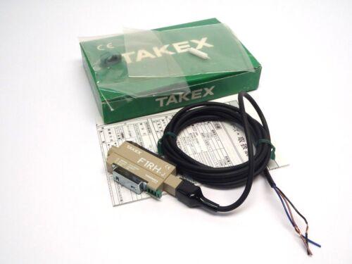 Takenaka Electronic Industrial Takex F1RH-J Module Fiber Optic Sensor