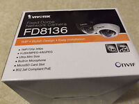 Vivotek FD8136 Ultra-Mini Fixed Dome Network Camera 1MP
