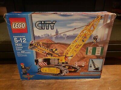 Lego City Crawler Crane 7632