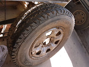 Hilux wheel 2008 4x4 new tyre firestone a/t 225/75r16 Murwillumbah Tweed Heads Area Preview