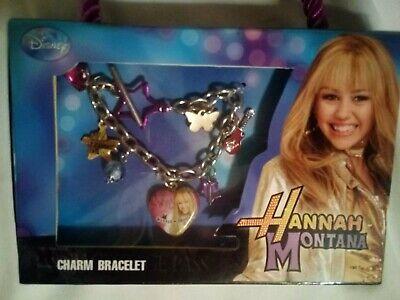 Disney Hannah Montana Charm Bracelet NIB Disney Hannah Montana Charm