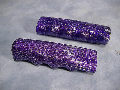 bike Dice Valve Caps Clear//Purple 244286