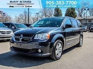 2013 Dodge Grand Caravan NAV, BACKUP CAM, HEATED LEATHER SEATS,
