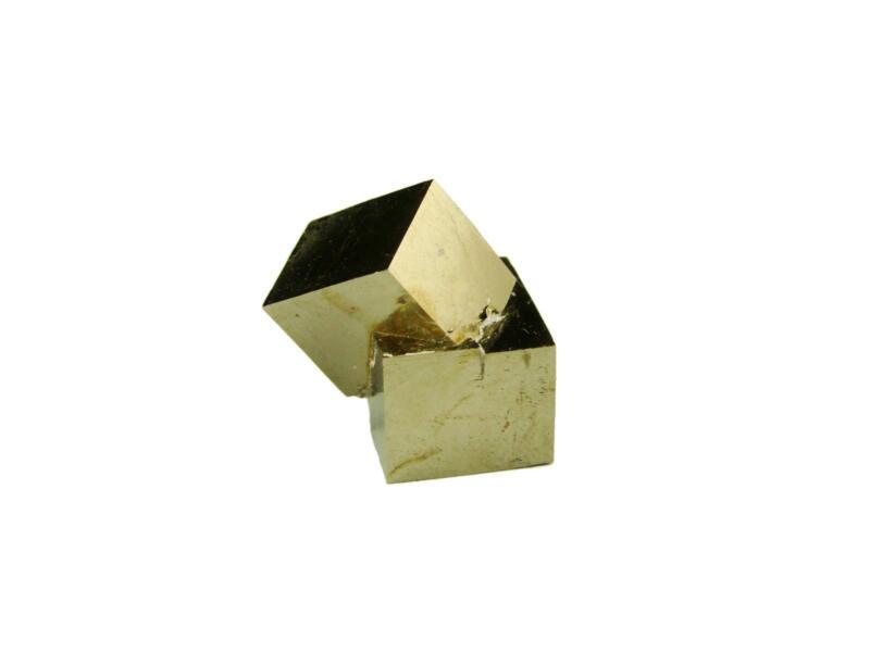 Navajun Spain Mine - Pyrite Cube Crystal With Display Case-#PC23