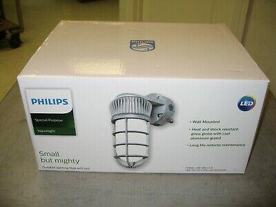 New Philips Pvwxl-14w-nw-g1-8 Cage Led Light Vapor Light Die-cast Aluminun